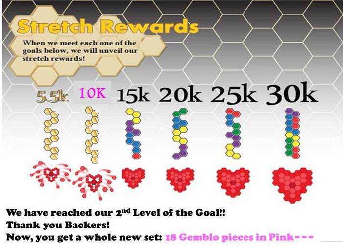 Let's Go for the Next Stretch Reward!