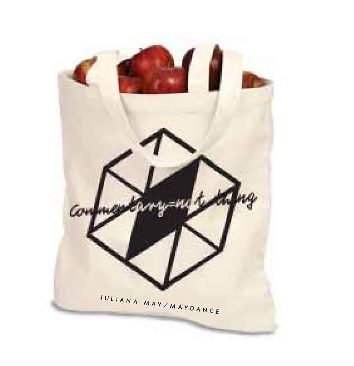 commentary = not thing tote bag by Kate Dewitt