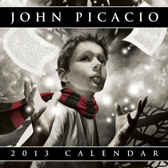 Cover of the 2013 John Picacio Calendar
