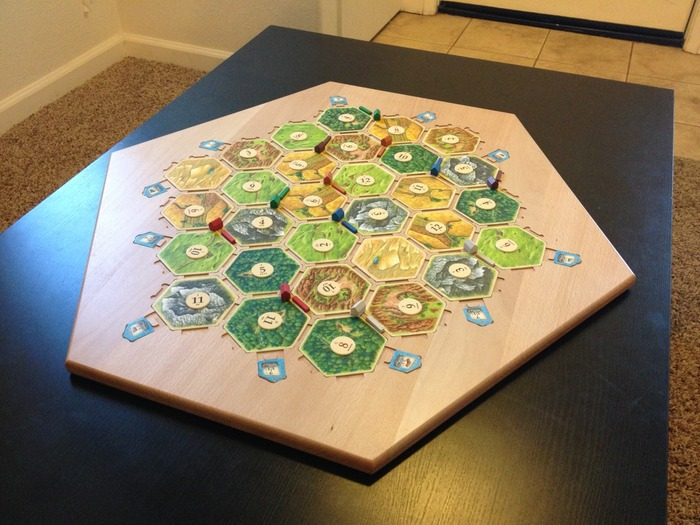 The 5-6 Player side filled and ready for a game.