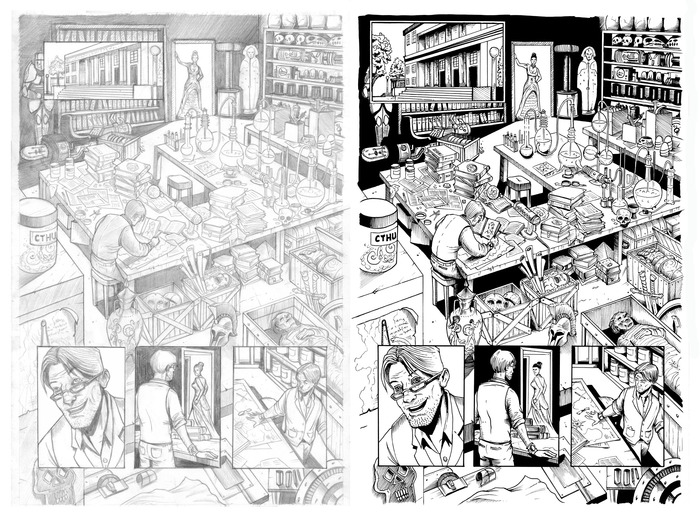 Page 11 pencils/inks