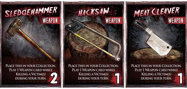 3 New Shiny Sharp Murder Toys ENJOY!