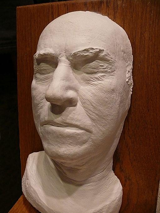 Thomas Edison's death mask