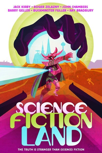 SCIENCE FICTION LAND movie poster. Copyright Rogan Josh, 2012.