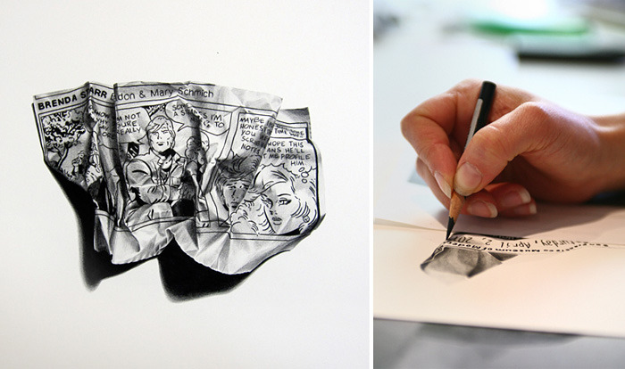 A photo realistic drawing by Christina Empedocles.