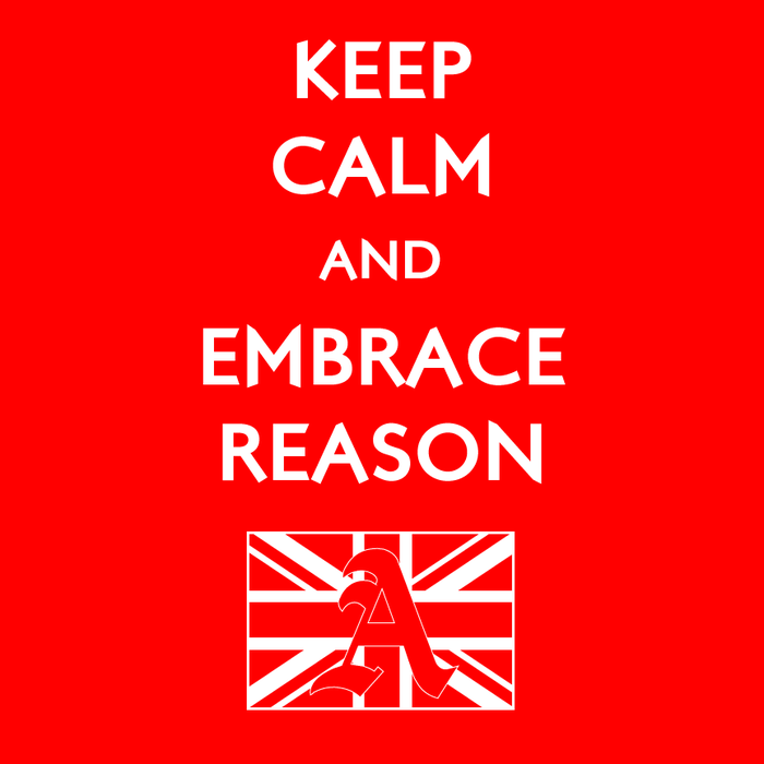$22 donors will receive a Keep Calm and Embrace Reason shirt!
