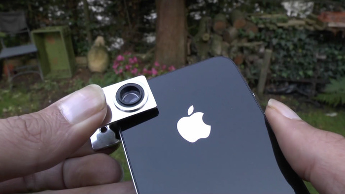 Embraces the iPhone. Easy to attach, position and remove