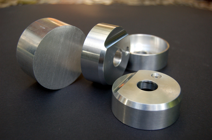 Light Lens shells. Made of aircraft grade aluminium