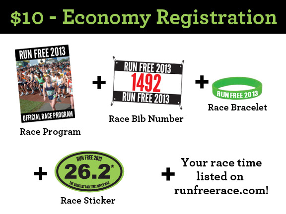 $10 - Economy Registration
