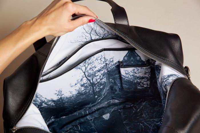 Weekender Bag Men's collection 46°00 N 9° 00 E
