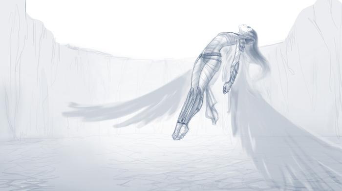 Helena Concept Artwork by Mariana Traverso