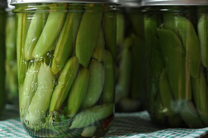 Snap Pea Pickles