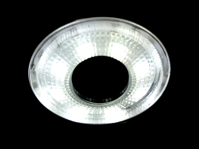 The Light Lens spreads out the light
