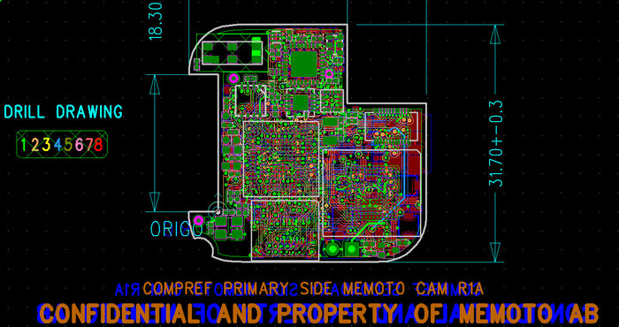The PCB currently waiting for review and quote from manufacturers.