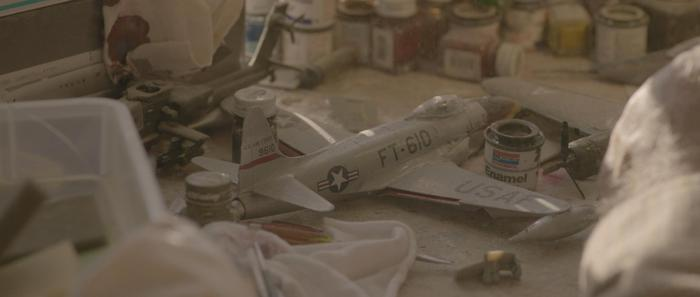 "A still from ""DUST."" HUGE thanks to Revell for all of the models!"