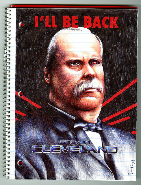 Grover Cleveland (1888) by Jim Rugg
