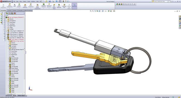 Designing the Nomad in 3D CAD