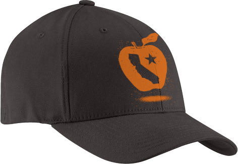 "The ecodads' Organic ""CA Golden Apple"" Hat - Limited Edition"