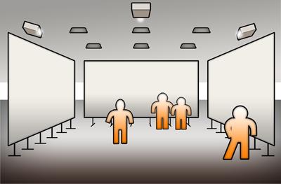 The auditorium. Click for details!