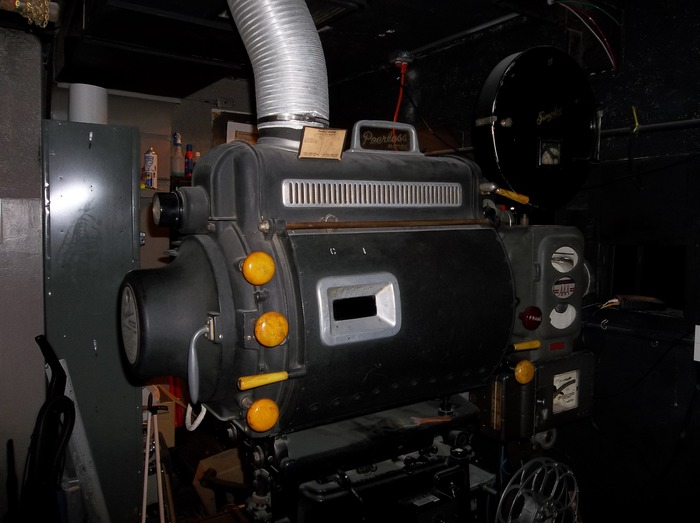 70 to 80 year-old Peerless Arclight Projector