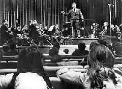 Legendary Maestro Leonard Bernstein inspired a national audience to care about classical music a generation ago.