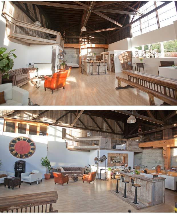 Event space rental of loft featured or stay while in San Francisco.