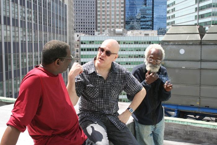 Breaktime against the New York Skyline