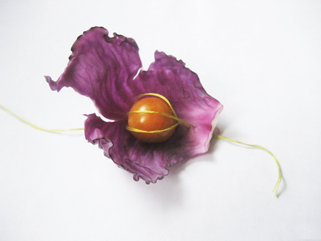 #65 - 10 of 10 left - Red Cabbage and Cherry No. 1