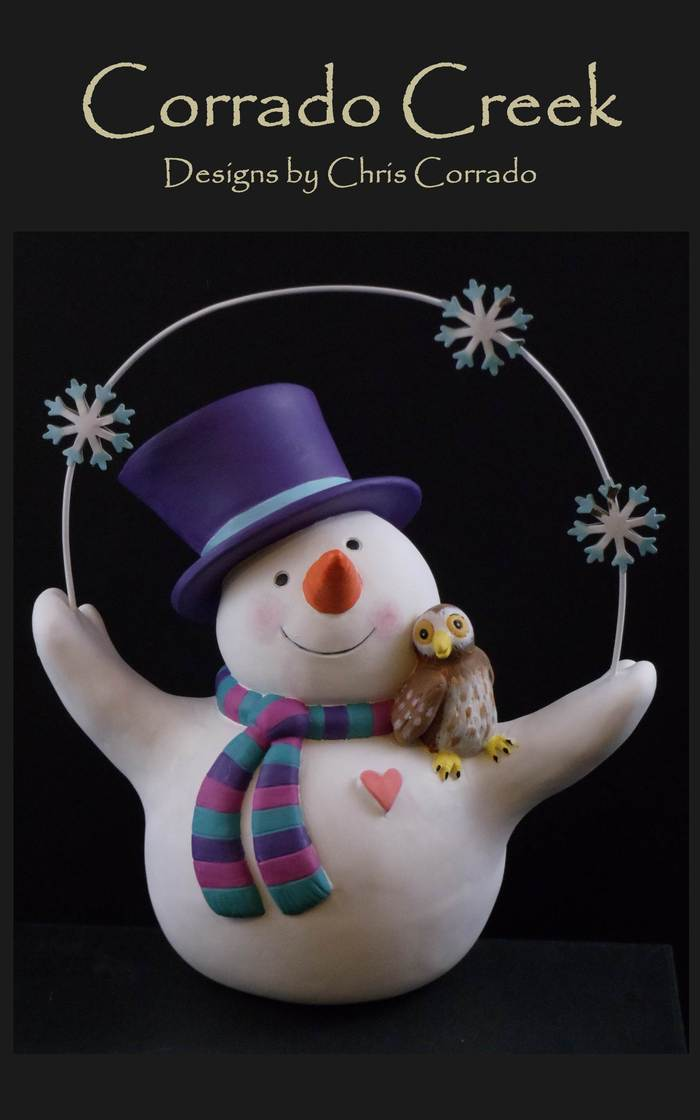 Jolly Juggling Snowman