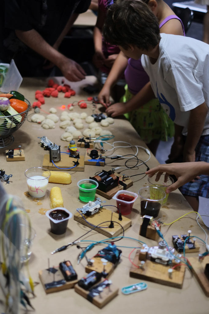 Squishy Circuits and more!