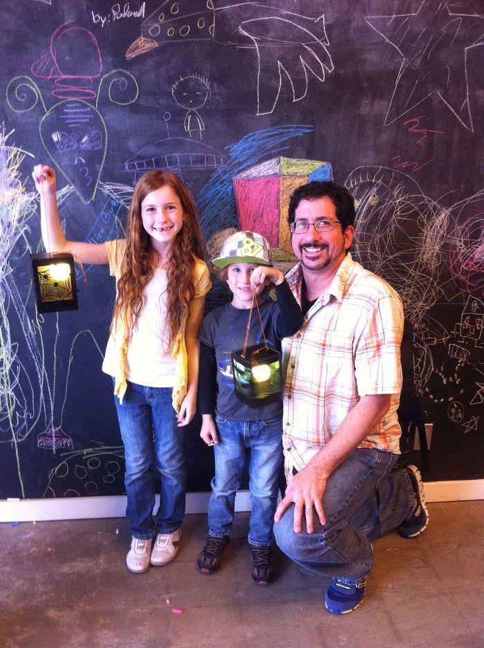 DIY LED Halloween Lantern Class