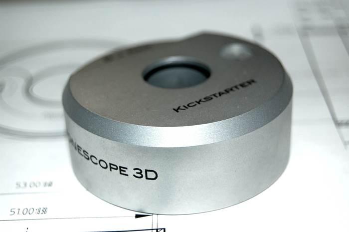 Laser inscribed Light Lens shell