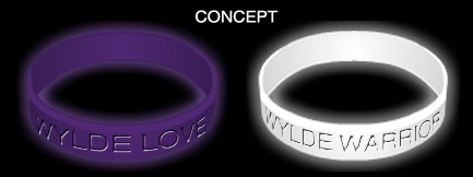Wylde Glow-In-The-Dark Bracelets