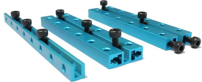 Basic beams with threaded slot