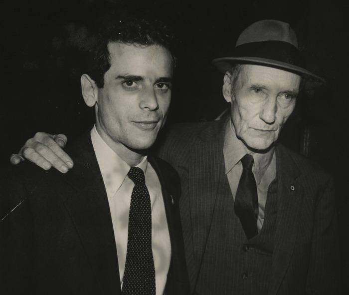 Brookner and Burroughs, NYFF 1983 (c) Paula Court