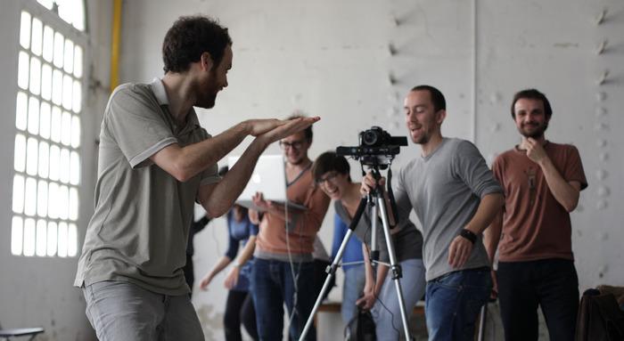 Depth filmmaking workshop at Hangar in Barcelona