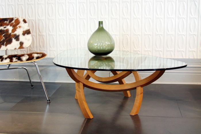 GR Table Design - Hickory, Glass