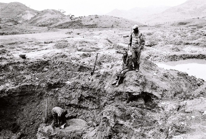 excerpt from THIS IS CONGO - miners in South Kivu