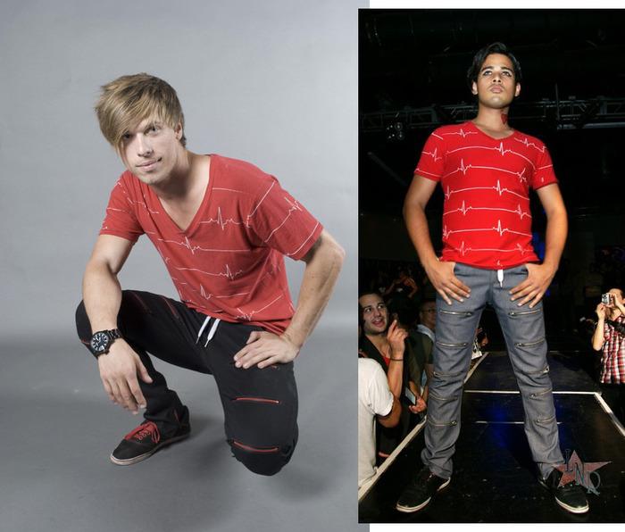 BPM, V-Neck Men's (colors:black,red,white,blue) sizes: S-XL // Zipskinny Jeans, Men's/Women's (colors:red,gray,blue,white,black) sizes: 22-34