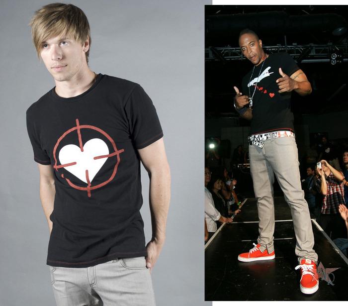 Heart Scope Crew Neck Graphic T-Shirt, Men's (colors:black,red,white,blue) // Heart Bomber Crew Neck Graphic T-Shirt, Men's (colors:black,red,white,blue) sizes: S-XL // Skinny Jeans, Men's/Women's (colors:red,gray,blue,white,black) sizes:22-34