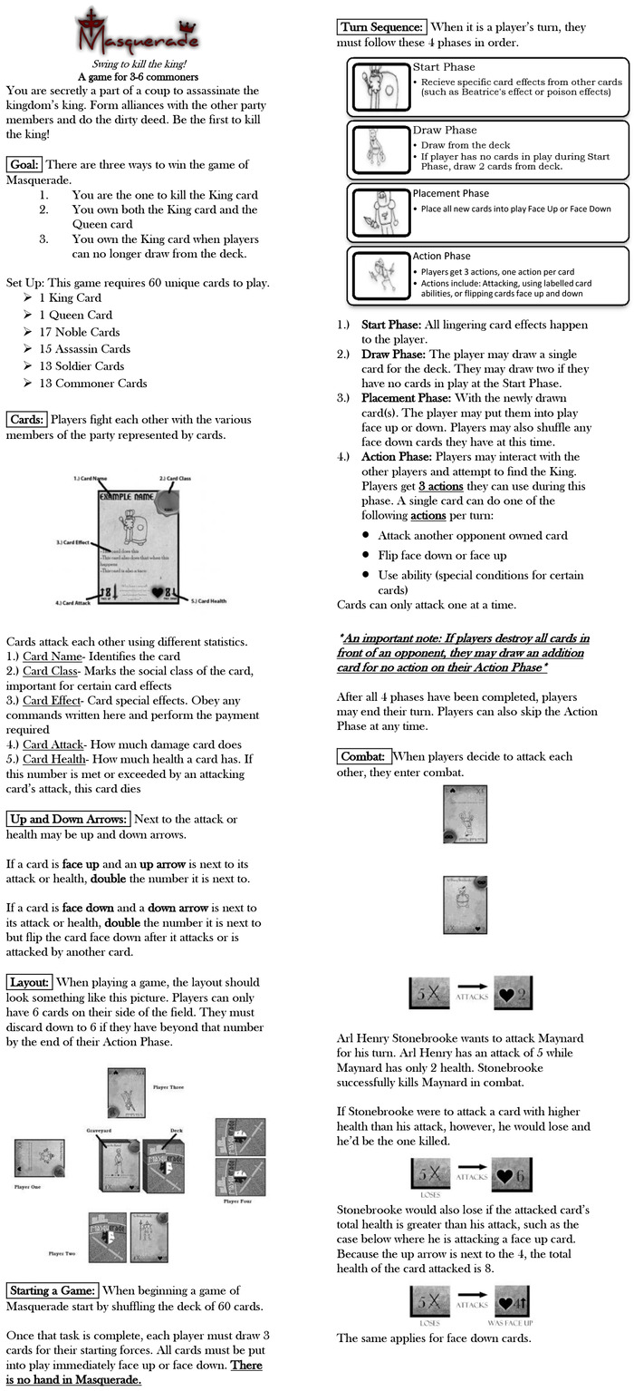 The rulebook as currently designed