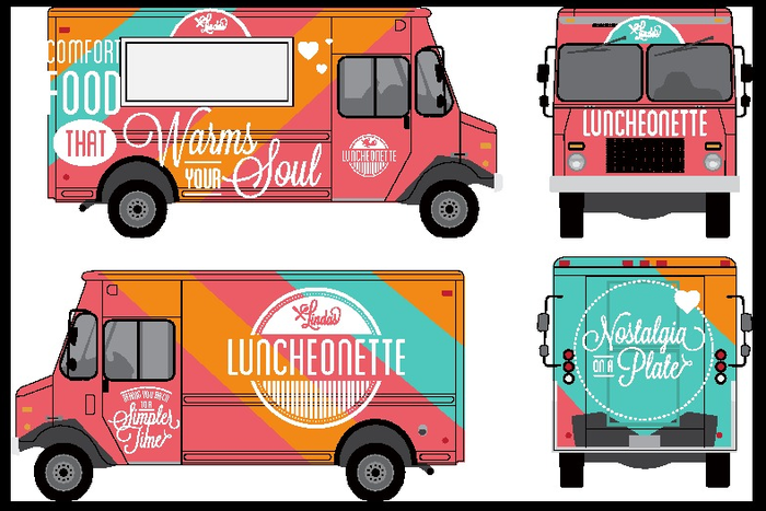 Soon-to-be Linda's Luncheonette Truck - thanks to your help!