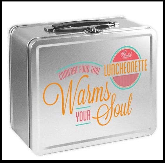 A Linda's Luncheonette lunchbox - Just one of our awesome thank-you gifts!