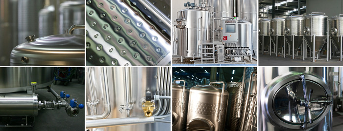 Our high-end brewing equipment