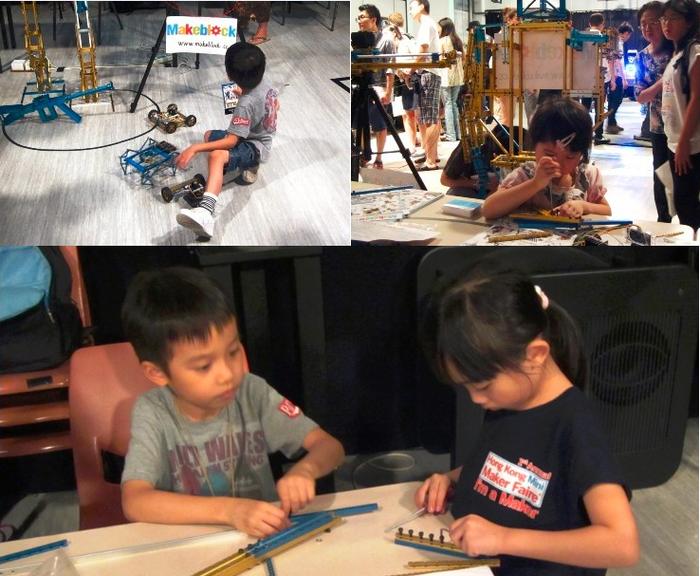 Makeblock in HK mini Makerfaire