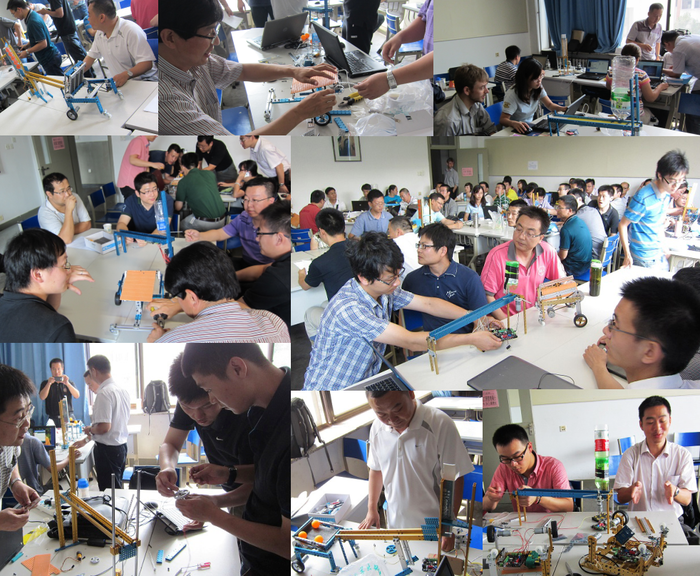 Makeblock for Engineering class in Tsinghua University