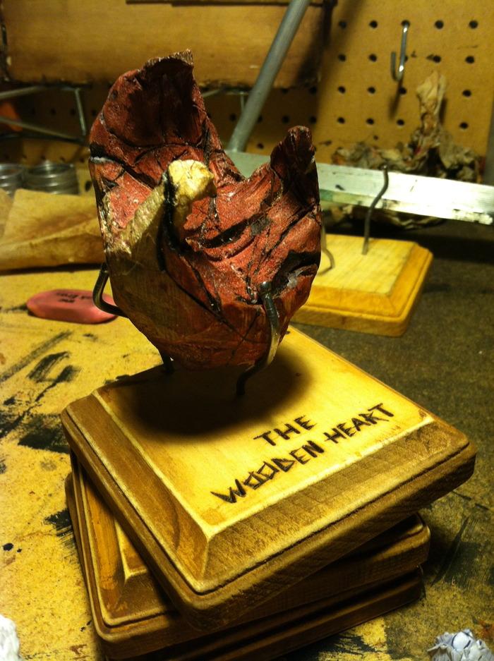 The Original Wooden Heart.