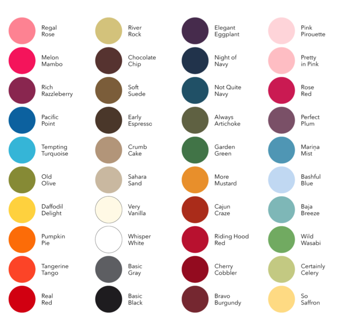 The Manuka Color Palette - Pick any color from the palette
