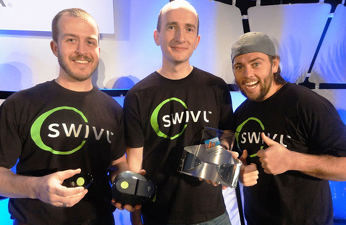 Swivl winning CES award with ShayCarl