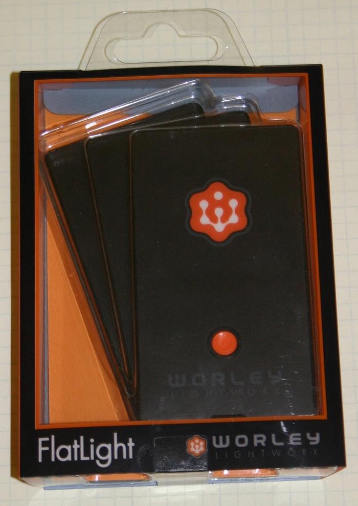 Prototype FlatLight Packaging